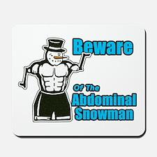 Abdominal Snowman Mousepad