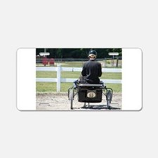 NUMBER 65 HORSE™ Aluminum License Plate