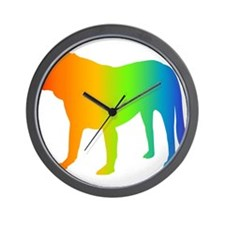 Spanish Mastiff Wall Clock