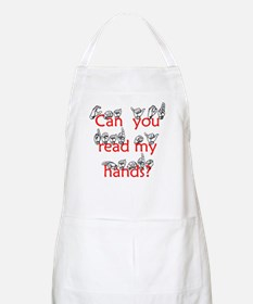Can You Read My Hands BBQ Apron