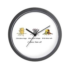 Tango Vals Milonga Wall Clock
