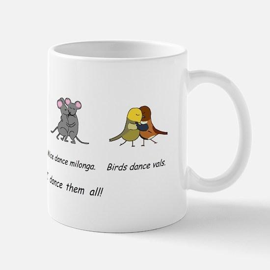 Tango Vals Milonga Mug