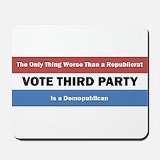 Republicats and Demopublicans Mousepad