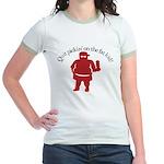 Quit Picking on the Fat Kid Jr. Ringer T-Shirt