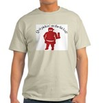 Quit Picking on the Fat Kid Ash Grey T-Shirt