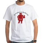 Quit Picking on the Fat Kid White T-Shirt