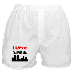 I Love California.png Boxer Shorts