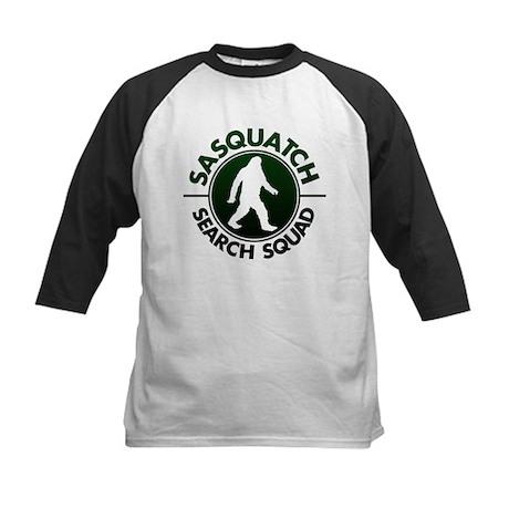 SASQUATCH SEARCH SQUAD Kids Baseball Jersey