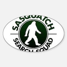 SASQUATCH SEARCH SQUAD Decal