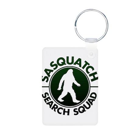 SASQUATCH SEARCH SQUAD Aluminum Photo Keychain