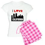 I Love California2.png Women's Light Pajamas