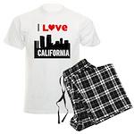 I Love California2.png Men's Light Pajamas
