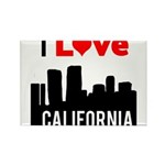 I Love California2.png Rectangle Magnet (10 pack)