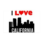 I Love California2.png 35x21 Wall Decal