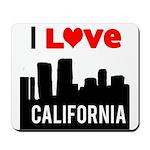 I Love California2.png Mousepad