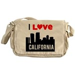I Love California2.png Messenger Bag