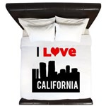 I Love California2.png King Duvet