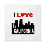 I Love California2.png Queen Duvet