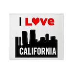 I Love California2.png Throw Blanket