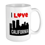I Love California2.png Large Mug