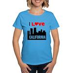 I Love California2.png Women's Dark T-Shirt