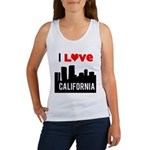 I Love California2.png Women's Tank Top