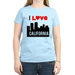 I Love California2.png Women's Light T-Shirt