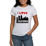 I Love California2.png Women's T-Shirt