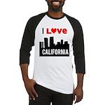 I Love California2.png Baseball Jersey