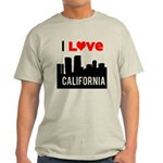 I Love California2.png Light T-Shirt