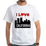 I Love California2.png White T-Shirt