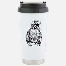Raptor Jesus Stainless Steel Travel Mug