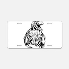 Raptor Jesus Aluminum License Plate