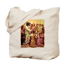 Jesus Raptor Tote Bag