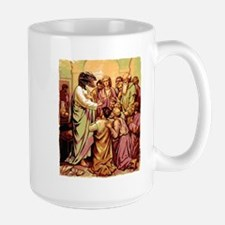 Jesus Raptor Large Mug