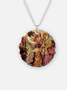 Jesus Raptor Necklace