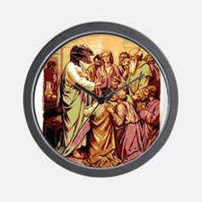 Jesus Raptor Wall Clock