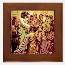 Jesus Raptor Framed Tile