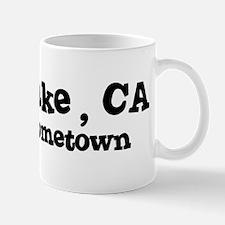Bass Lake - hometown Mug