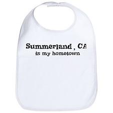 Summerland - hometown Bib