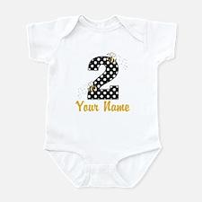 2nd Birthday Bumble Bee Infant Bodysuit