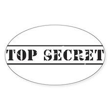 Top Secret Decal