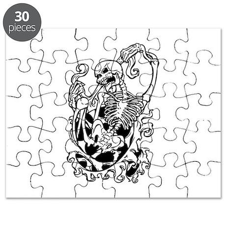 Skeleton Puzzle by TheFantasticShirtandMoreShop