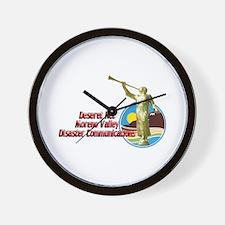 Deseret Net Moreno Valley Wall Clock