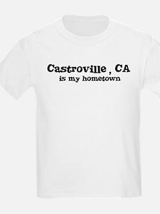 Castroville - hometown Kids T-Shirt