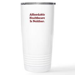 Afordable Healthcare Travel Mug