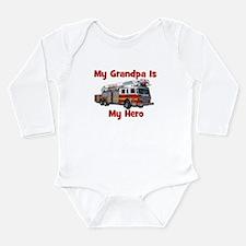 firetruck_ismyhero_grandpa Body Suit