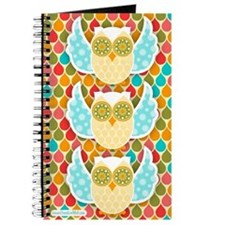 Owl Boheme White Journal