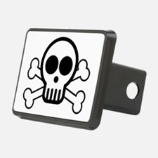 Skull and Bones Hitch Cover