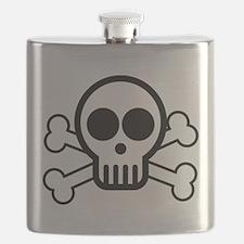 Skull and Bones Flask